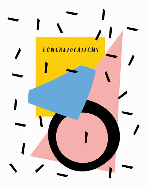 Funky Congrats