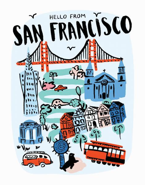 Hello From San Francisco