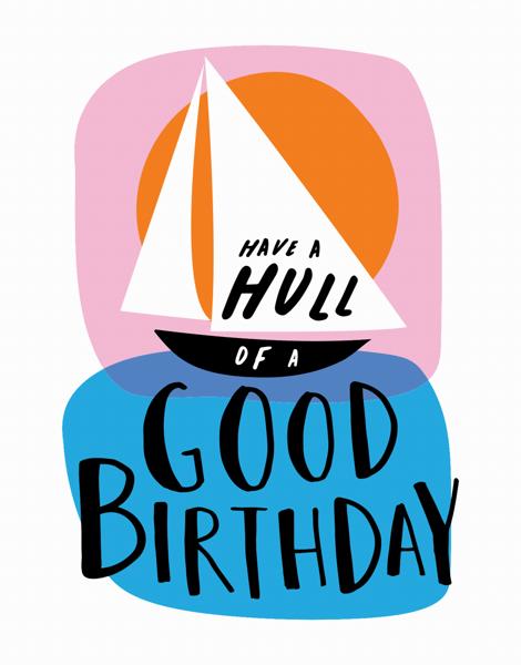 Sailboat Birthday