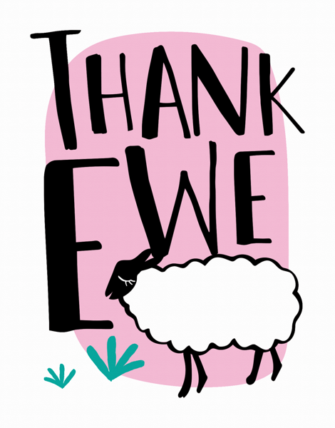 Thank Ewe