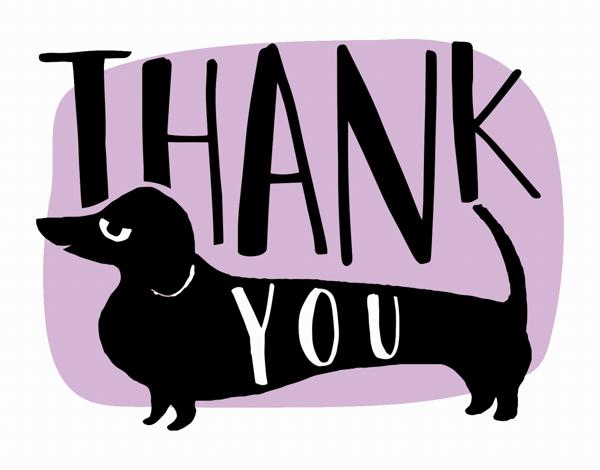 Thank You Dog