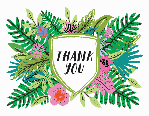 Tropical Thank You