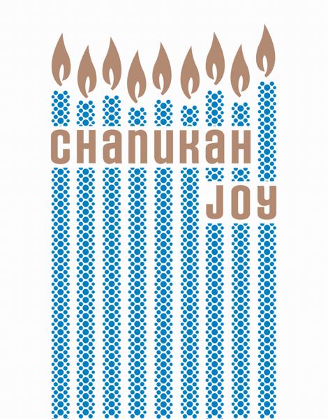 Joyful Chanukah Card