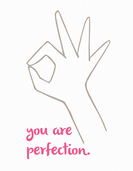 charming Hand Written Friend Card