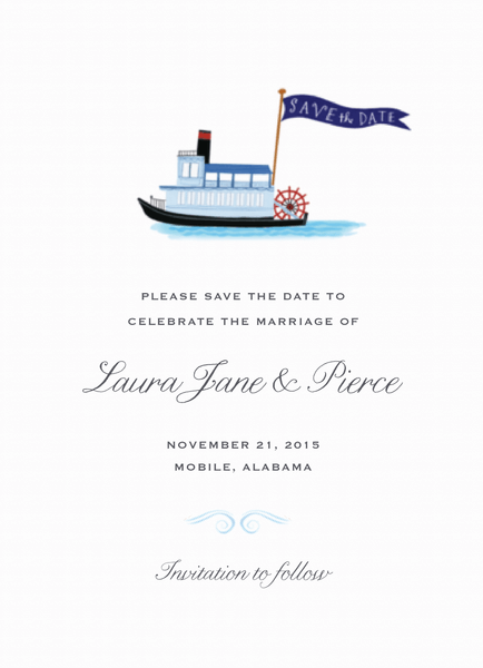 Custom Save The Dates — Mailed For You | Postable