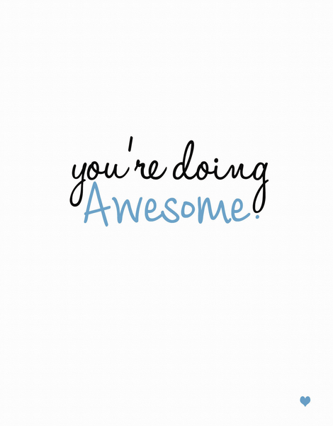 Doing Awesome