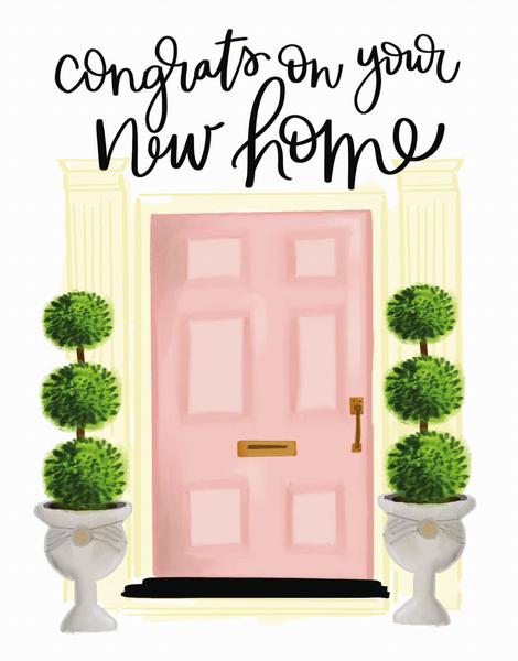 Pink Door Congrats