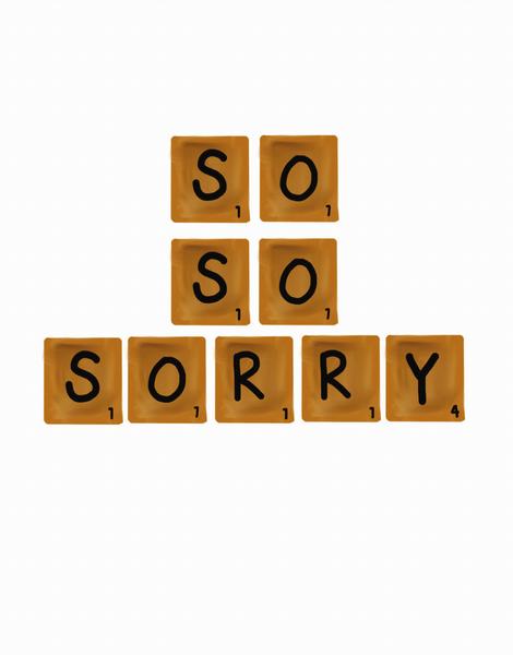 So So Sorry