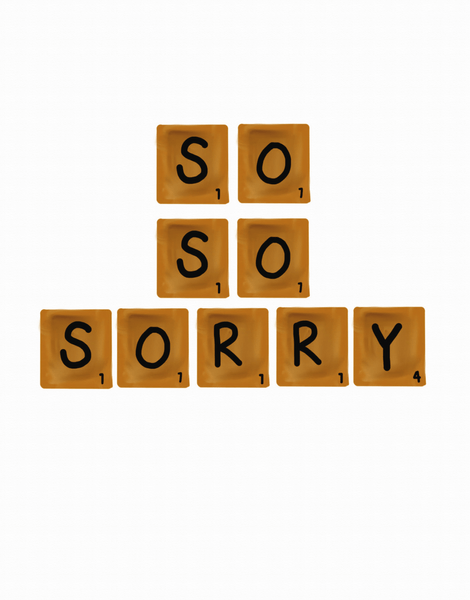 So So Sorry