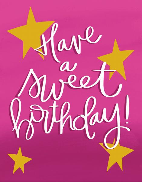 Sweet Birthday