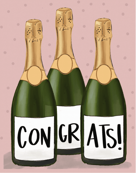 Bubbly Congrats