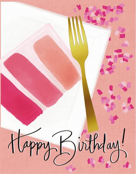 Pink Cake Birthday
