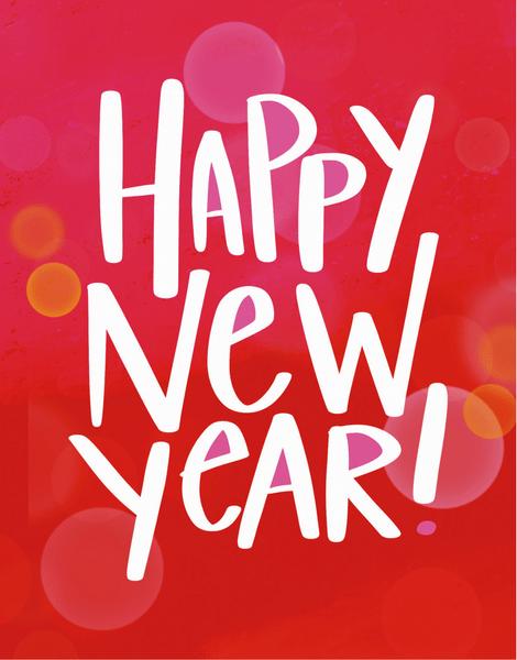 Bokeh New Year