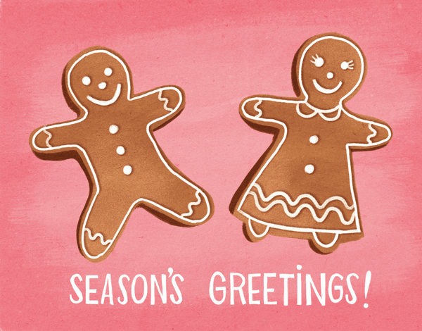 Gingerbread Season's Greetings