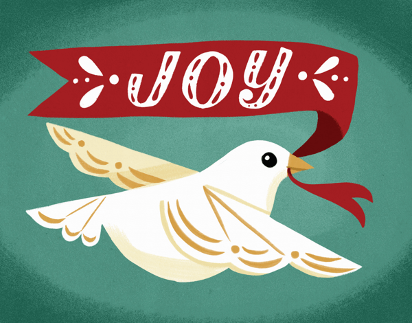 dove-joy-greeting-card