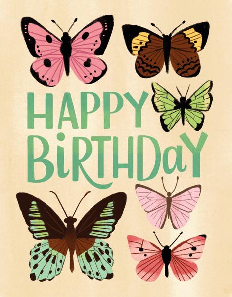 Birthday Butterflies