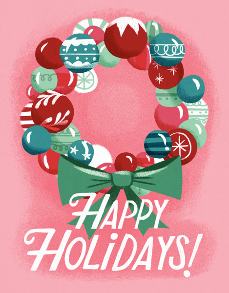 Ornament Wreath Holidays