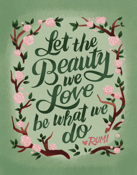 Let The Beauty We Love