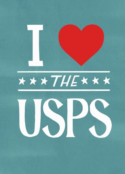 I Love The USPS