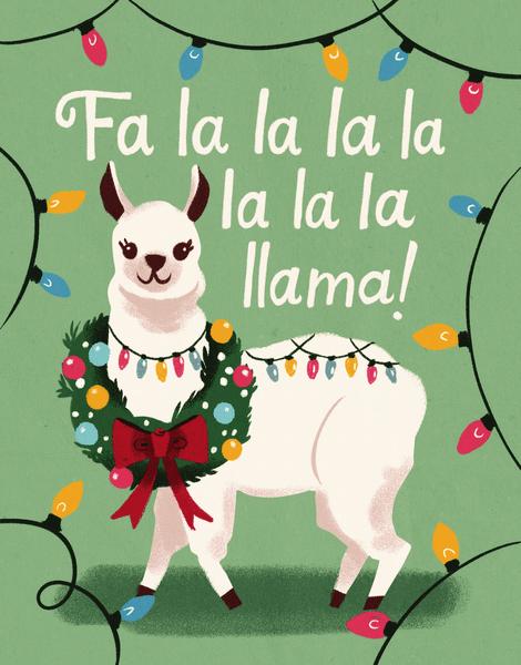 Llama Holiday