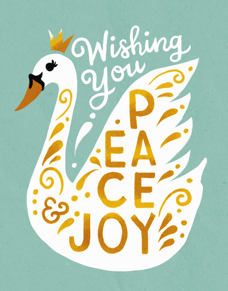 Swan Peace And Joy