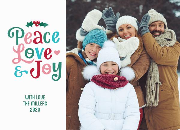 Cute Peace Love Joy