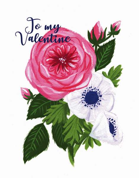 To My Valentine Rose