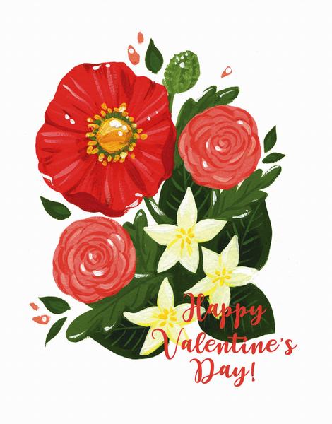 Valentine Poppy