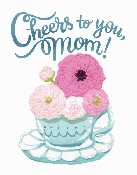 Mother's Day Teacup