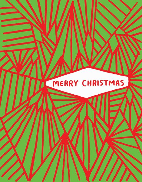 Abstract Christmas Design