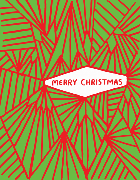Abstract Christmas Design