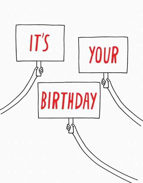 Birthday Signs
