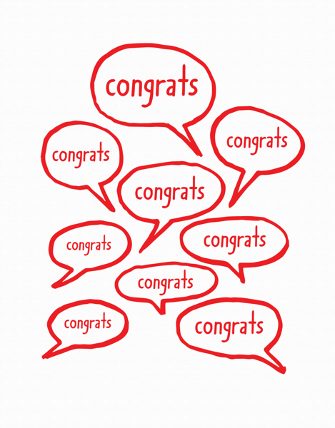 Congrats Bubbles