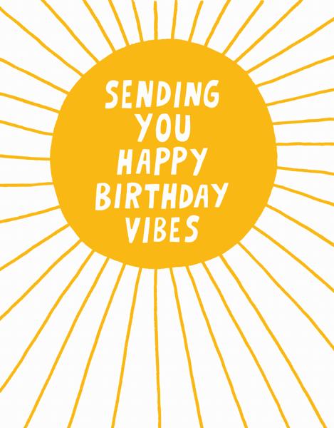 Happy Birthday Vibes