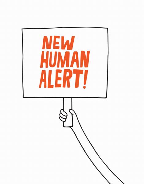 New Human Alert