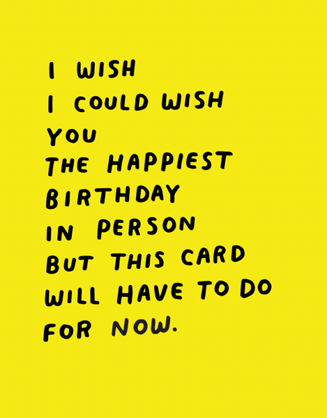 This Card Will Do
