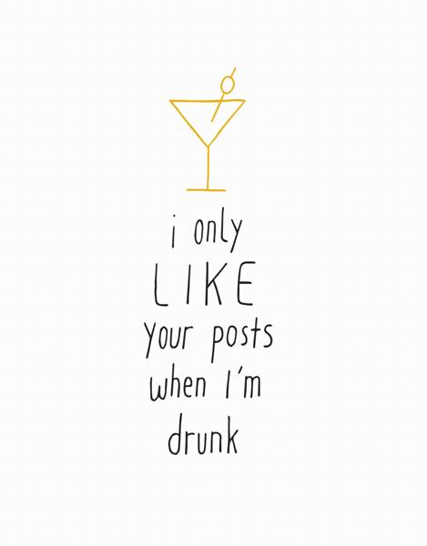 When I'm Drunk