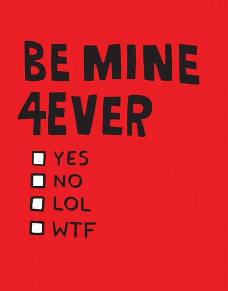 Be Mine 4 Ever