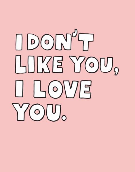 Love Not Like