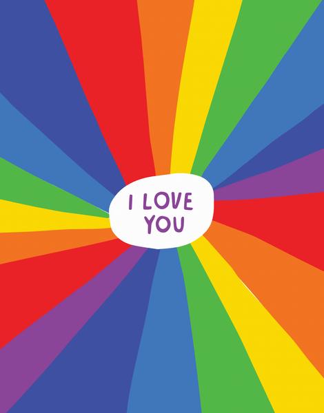 I Love You Rainbow