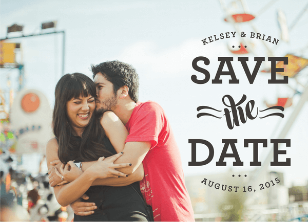 Cheer & Whimsical Save The Date
