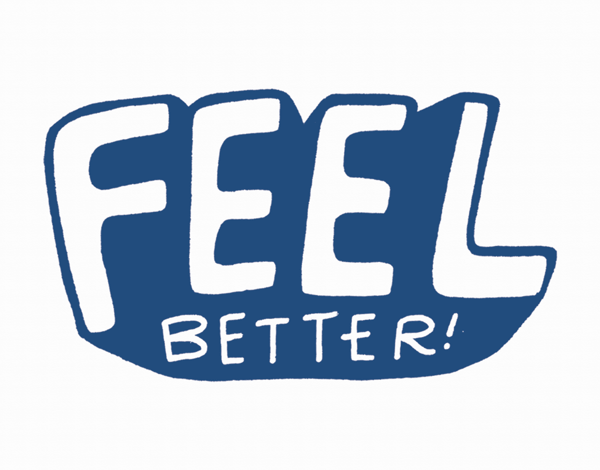 Bold Feel Better Card
