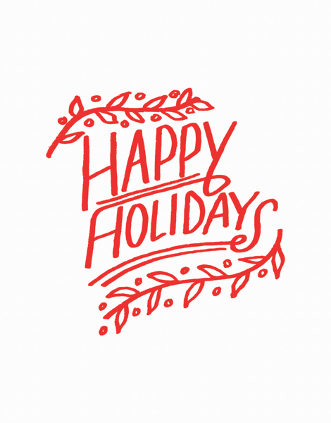 Happy Holiday Branches