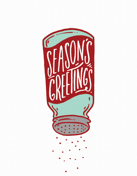 Seasoning Greetings