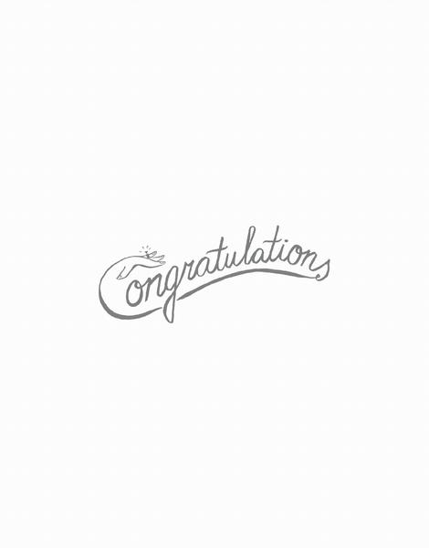 Congrats Ring