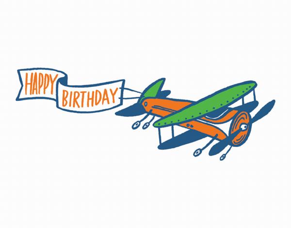 Birthday Plane