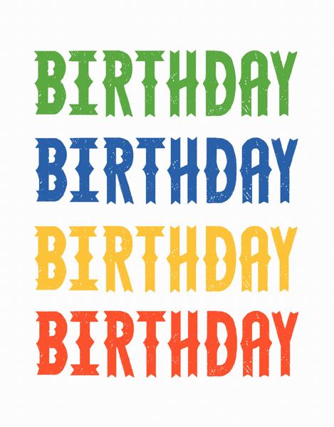 Birthday Repetition
