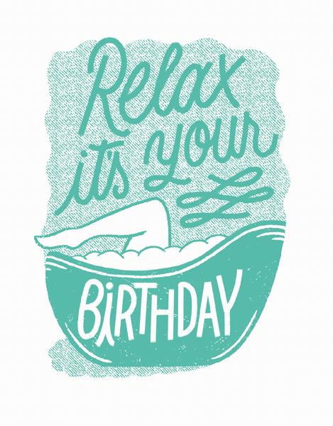 Relax Birthday