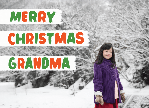 Merry Christmas Grandma