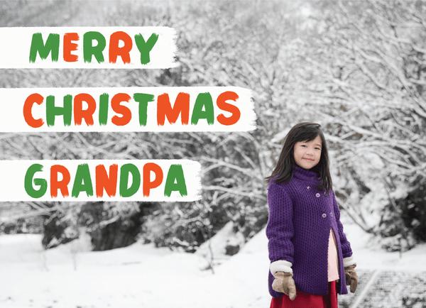 Merry Christmas Grandpa